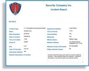 Incident Report Website